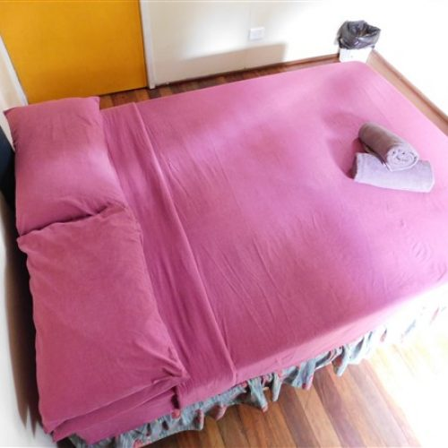 Typical Double Bed for this room type